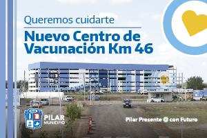 Anuncio Pilar. Centro Vacunacion - Abril 2021
