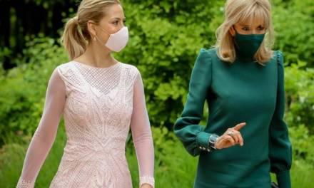 Fabiola Yañez almorzó con Brigitte Macron: ¿de qué hablaron?