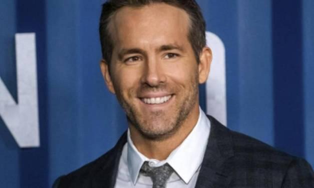 Ryan Reynolds confesó que sufre de ansiedad: «Mi amiga de toda la vida»