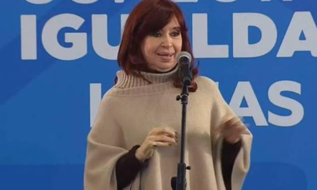 En campaña, Cristina Kirchner cruzó a la oposición: «Yo creo que odian a los argentinos»