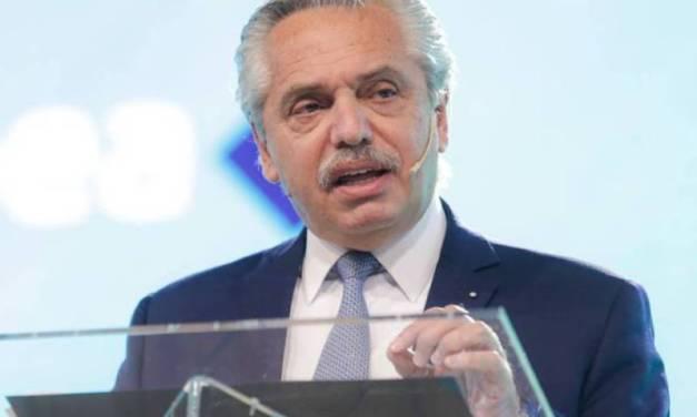 Alberto Fernández aseguró que le queda el «tiempo de descuento» de su mandato