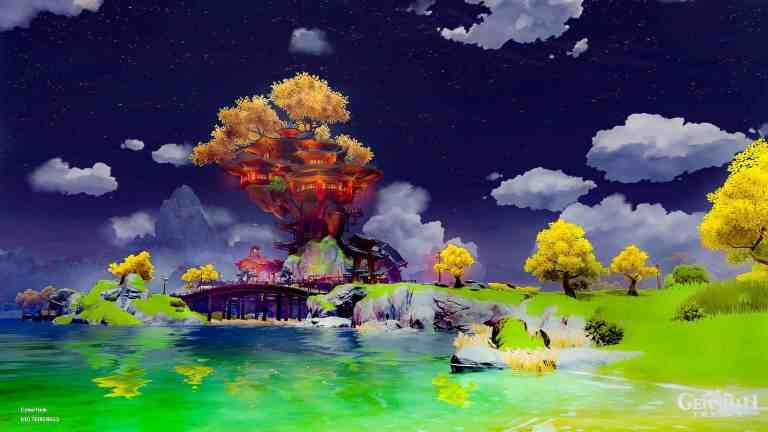 Genshin Impact artwork