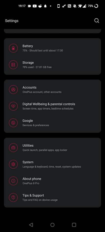 about phone android