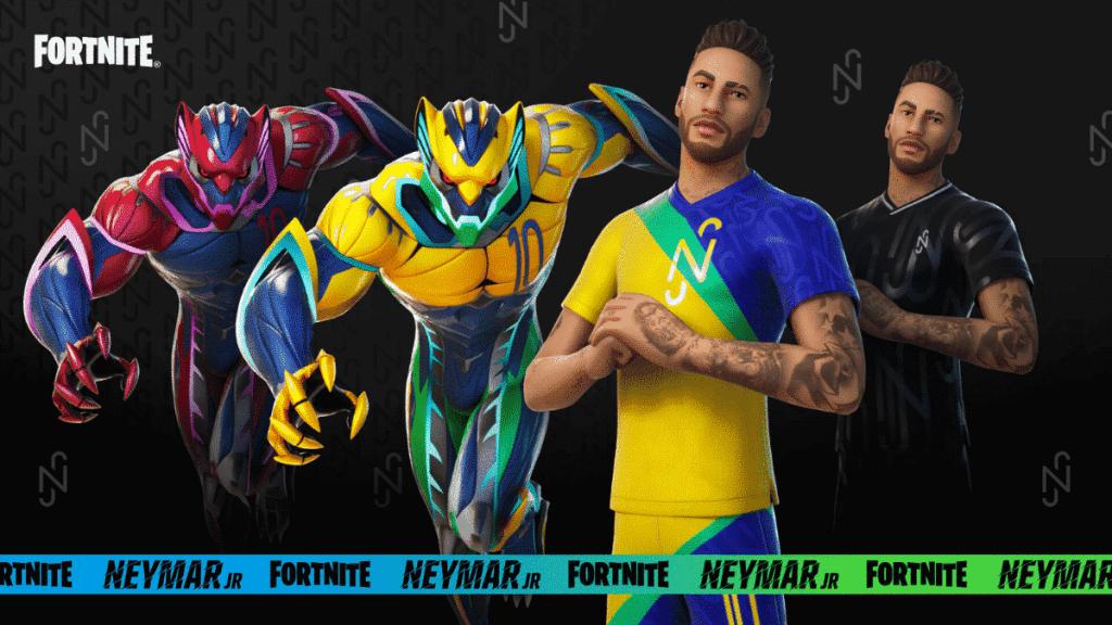 Fortnite Neymar Jr skin epic games teaser