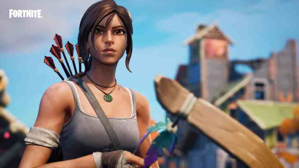 Fortnite Lara Croft stealhty stronghold location