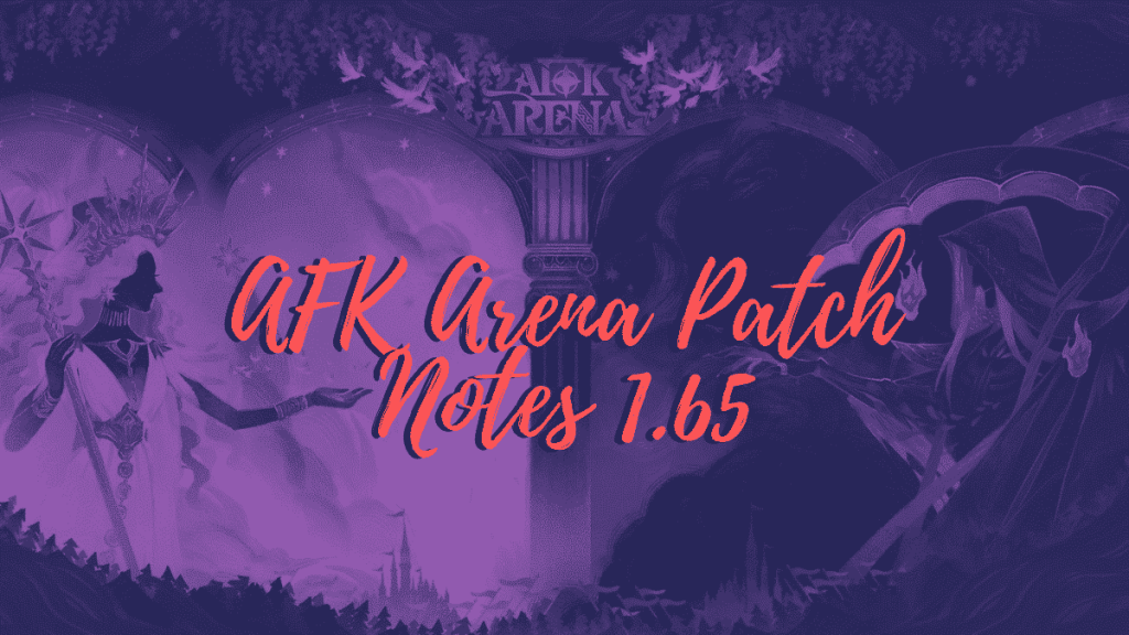 afk arena patch notes 1.65 the lone ranger