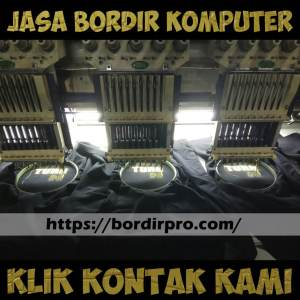 Harga Jasa Bordir Komputer Murah di Surabaya