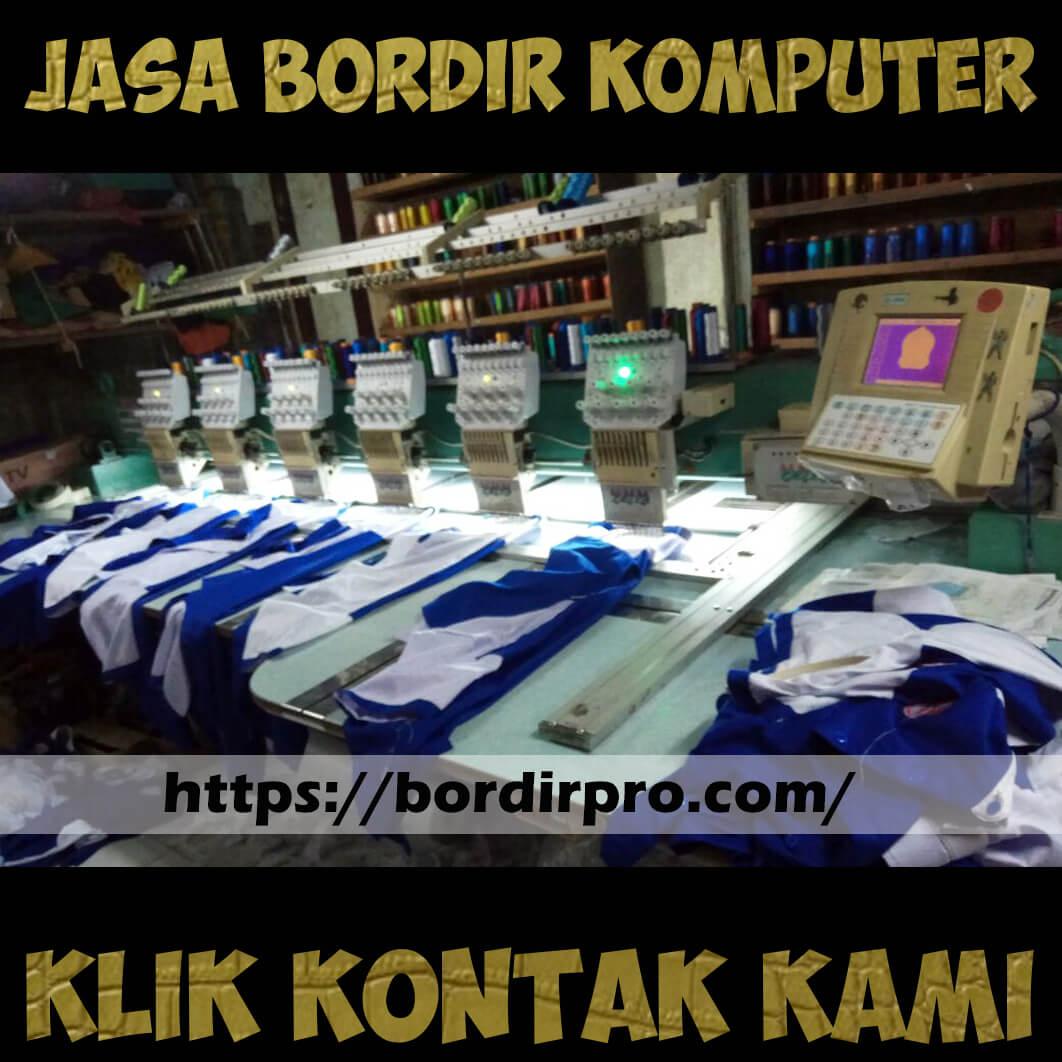 Jasa Bordir Komputer Baju Murah di Surabaya