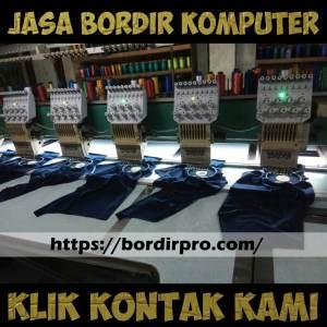 Jasa Bordir Komputer Murah, jasa Bordir Komputer Area Surabaya