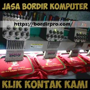Industri Bordir Digital, Jasa Bordir Digital