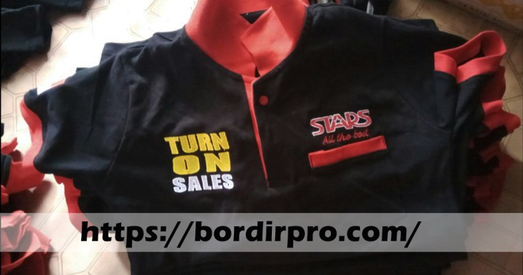 Kaos Polo Shirt Bordir Murah dan Grosir
