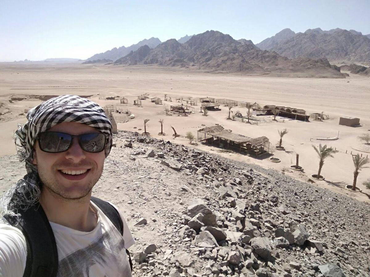 Egypt desert hills