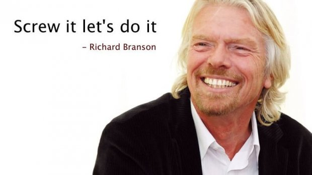 Richard Branson photo