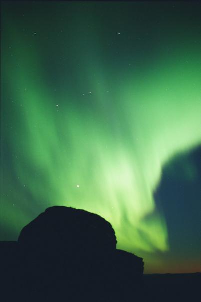 Northern Lights Alaska August