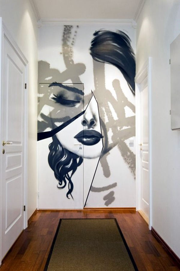 40 Elegant Wall Painting Ideas For Your Beloved Home ... on Painting Ideas For House  id=72804