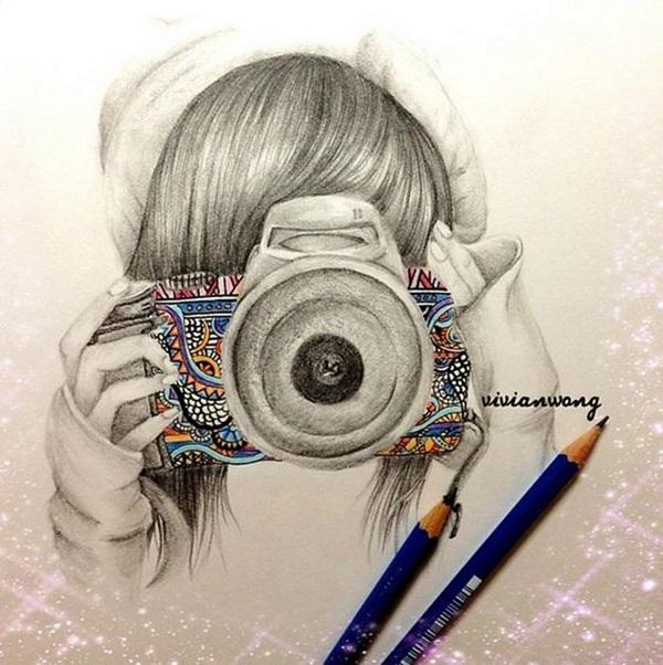 Drawings Camera Tumblr Easy