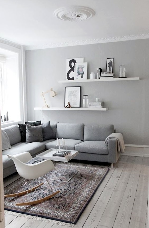 40 Simple But Fashionable Living Room Wall Decoration ... on Room Wall Decor id=75638