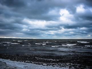 Lake Erie in Winter