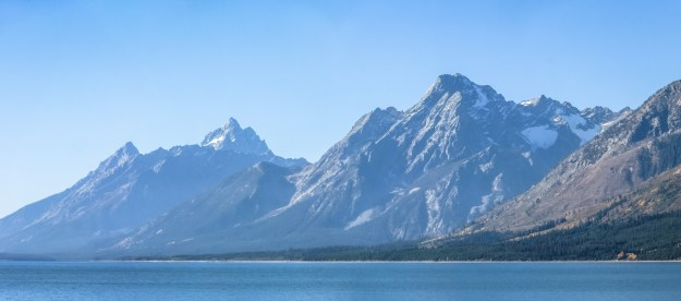 Grand Tetons at Jackson Lake