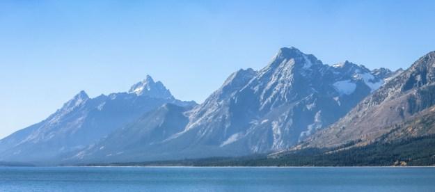 Grand Tetons at Jackson Lake