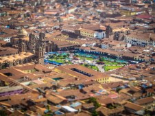Plaza de Armas Tilt-Shift
