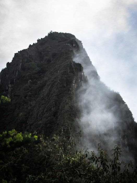 Huayna Picchu and Cloud
