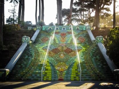 California Street Steps