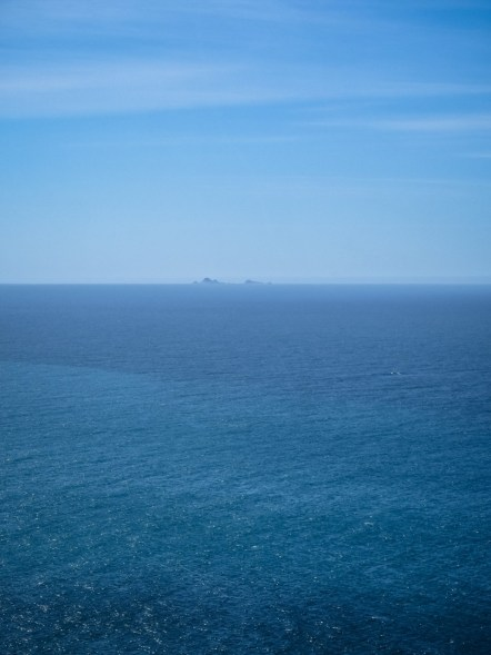 Farallon Islands from Point Reyes