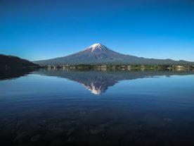 Mt. Fuji and Lake Kawaguchi