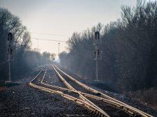 Louisiana Train Tracks