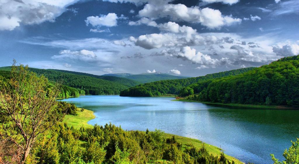 The lake mavrovo