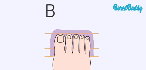 The Shape Of Your Feet Reveal Your Personality - B