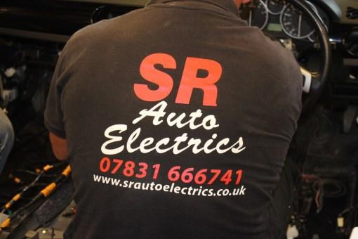 Stuart Read SR Auto Electrics Wiring Jude's MX-5