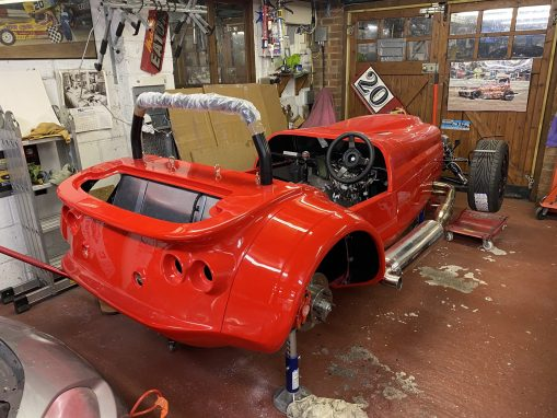 Westfield Mega S2000 Build Project