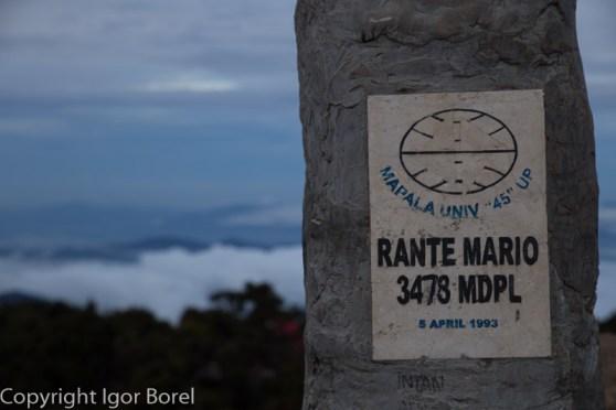 Mt. Rantemario, 3.478m