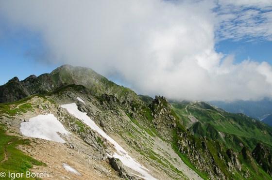 Suishodake, Kurodake 黒岳, 水晶岳, 2.986 m
