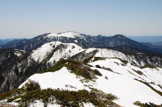 Tekaridake 光岳, 2.591 m