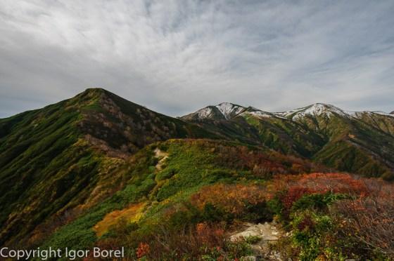 Asahidake 朝日山, 1.870 m