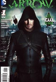 Arrow Issue 1 regular cover