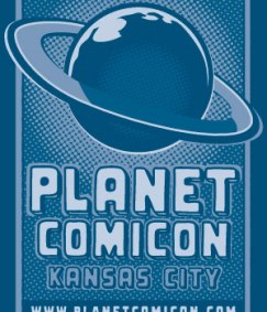 Planet Comicon logo