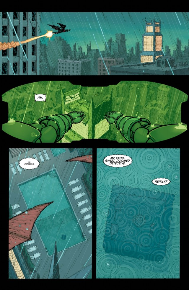 Batman Inc Issue 8 preview pages 4