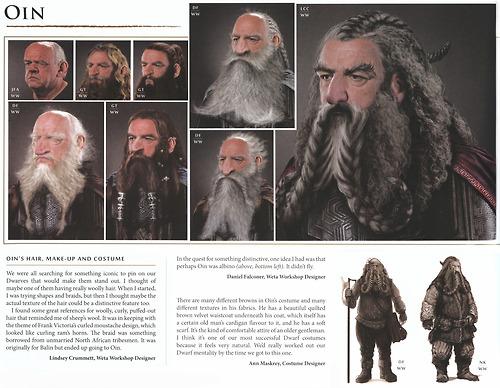 Hobbit chronicles Oin spread