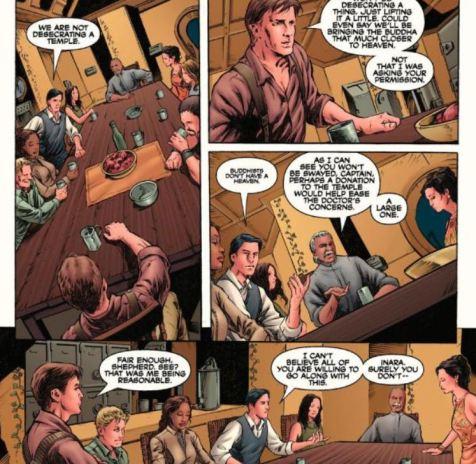 Serenity Better Days excerpt Dark Horse Comics