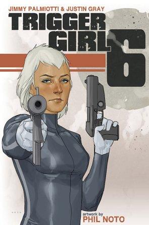 Trigger Girl 6 cover