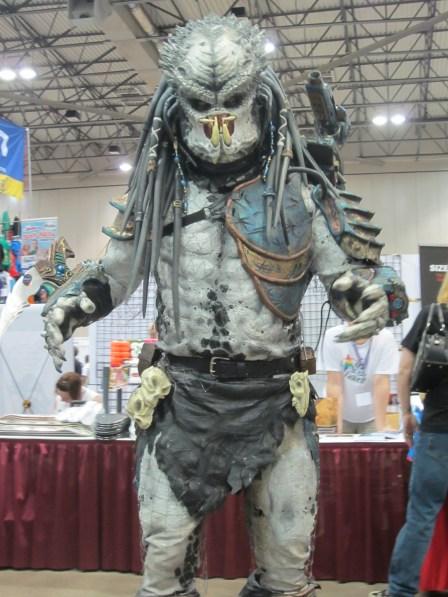 Predator at Planet Comicon 2013