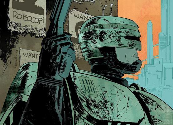 Declan Shalvey RoboCop cover excerpt