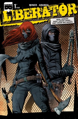Liberator Issue 1 cover