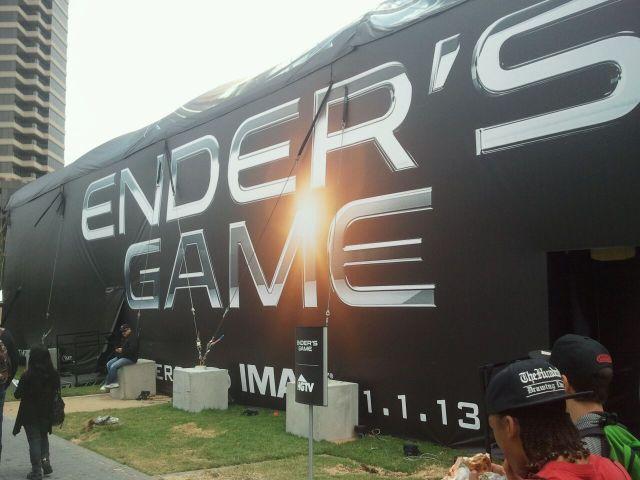 Enders Game exhibit