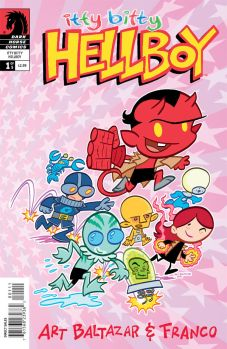Itty Bitty Hellboy Issue 1 cover
