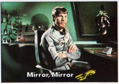 Spock Mirror card